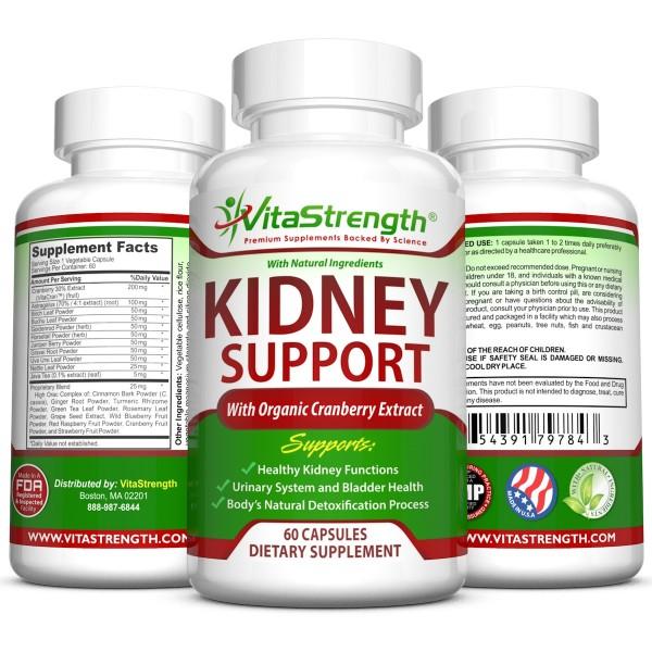 Herbal kidney support
