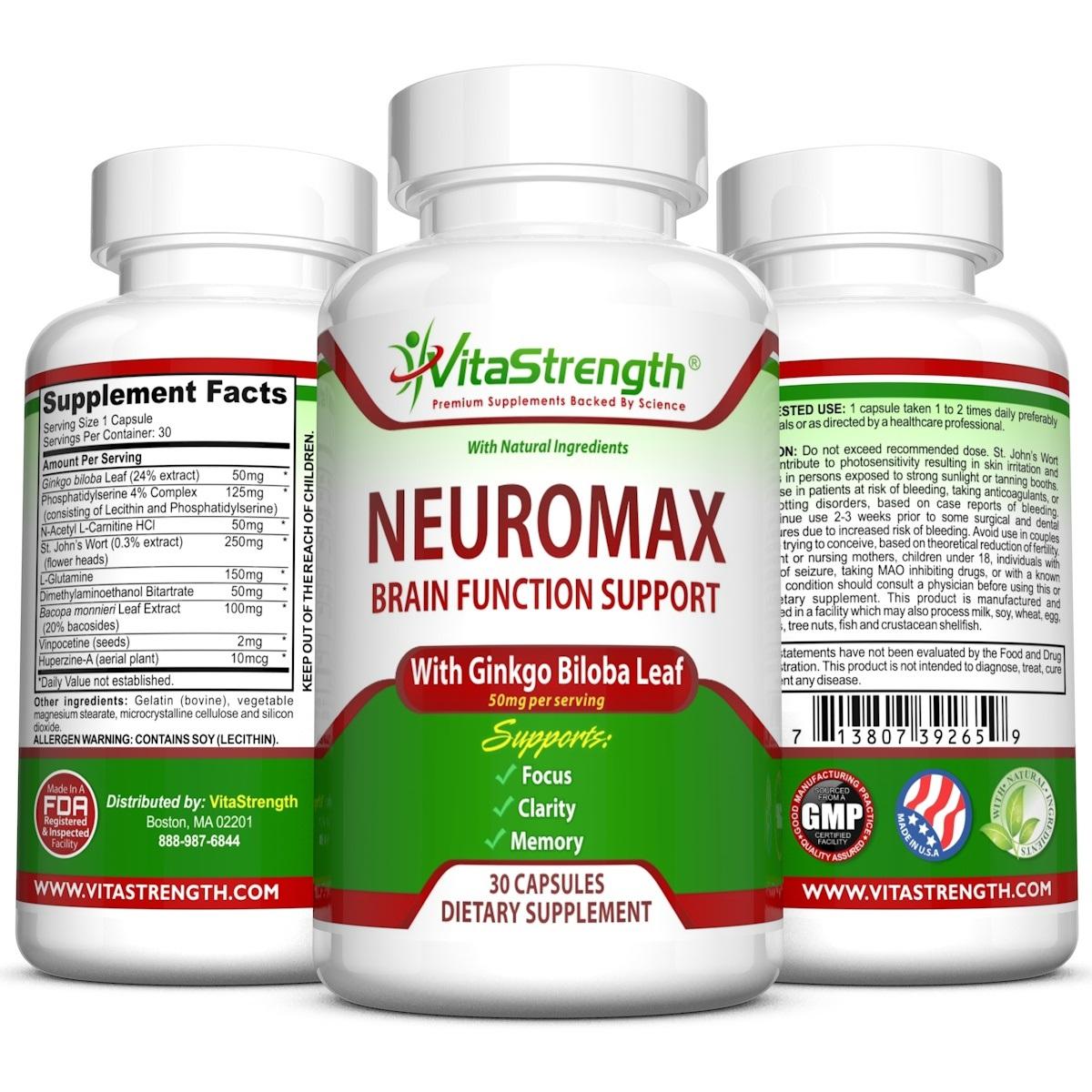 Amazon.com: BrainJuice Brain Booster Vitamins Memory Focus