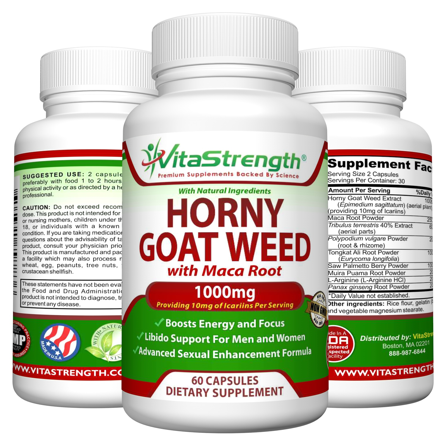 Benefits of taking horney goat weed